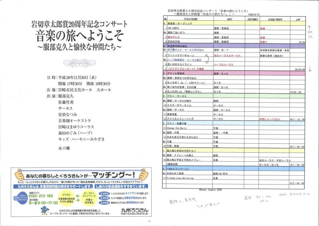 【2008】岩切章太郎20周年